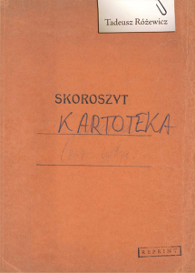 ebook Kartoteka: reprint